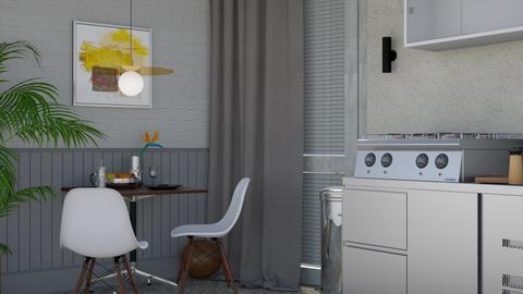 Industrial Kitchen - Minimal - by HenkRetro1960