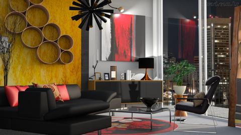 Distinction - Living room - by milyca8