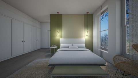 Bedroom calm - by darkknight