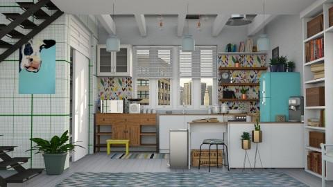 xx - Kitchen - by sativah