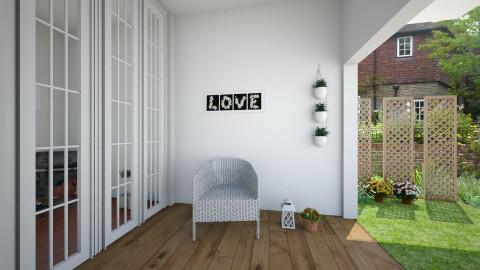 outside - Living room - by Monica V Seke