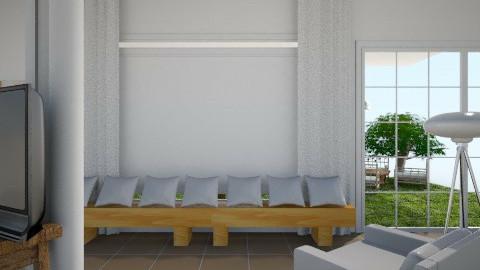 עבודת גמר סלון 6 - Living room - by Asaf Diamant