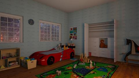 Toddler Room - Kids room - by zizzy