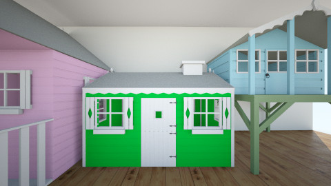 kids place - Kids room - by peapod040506