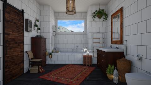Bohemian bathroom - Eclectic - Bathroom - by martinabb