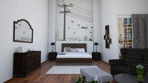 bedroom - by maritaaslamazashvili