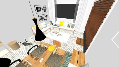 Summer Kitchen - Modern - Kitchen - by anicka94
