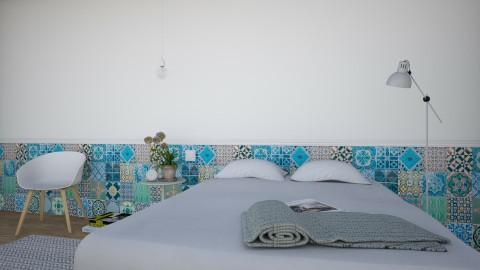 Santo Antonio - Vintage - Bedroom - by Maria Esteves de Oliveira