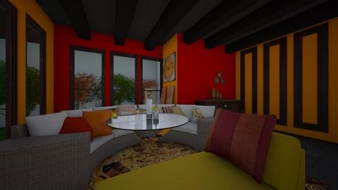 tric1modern - Dining room - by hiremirandas