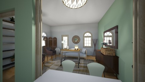 Calming Green - Country - Living room - by XiraFizade