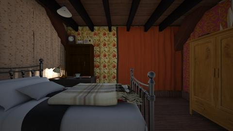 Agathas Room - Vintage - Bedroom - by PeculiarLeah