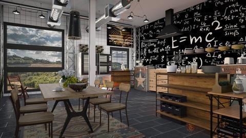 Einsteins_Kitchen - Kitchen - by ZuzanaDesign