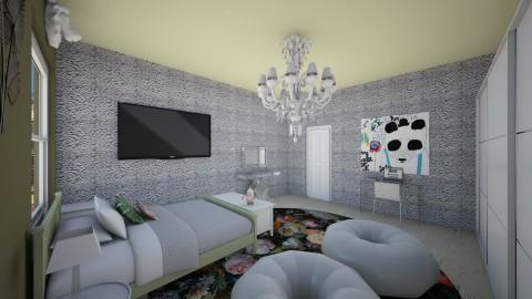 olive teen - Modern - Bedroom - by somei