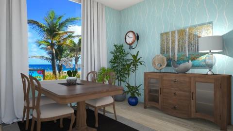 Aqua - Dining room - by VeroDale