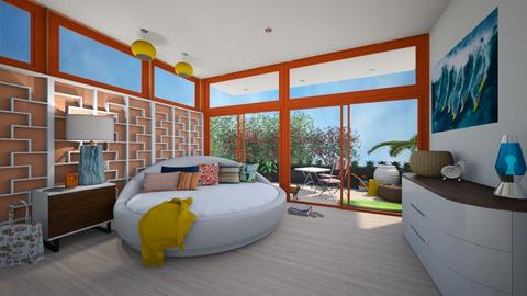 surf dreams - Bedroom - by 11Kay11