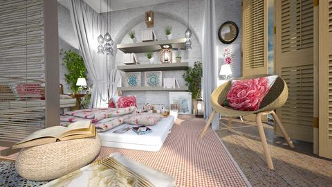 boho - Bedroom - by ana111