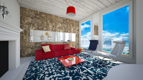 rusvalk - Living room - by annikas