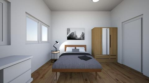 bedroom - Modern - Bedroom - by mareyasminn