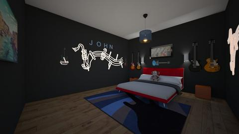 Guitar Room - Bedroom - by emmas004