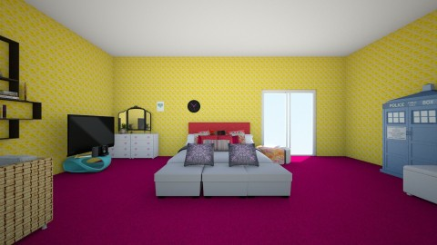 Summer - Bedroom - by lily nowak