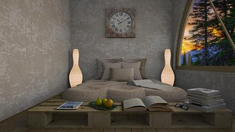 natural - Bedroom - by daydreamer84