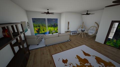 livingroom_kitchen - Country - Kitchen - by Clara1311_1618