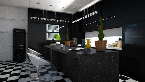 kitchen - Feminine - Kitchen - by Badgalriri