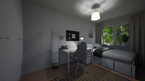 Cozy bedroom - Bedroom - by ellafrodin