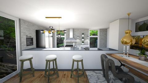 Modern kitchen - Kitchen - by 24alexber