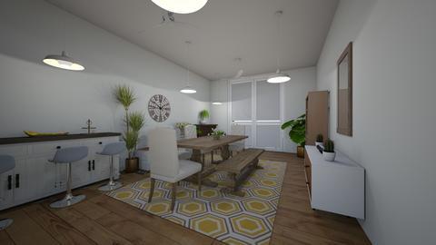 diningarea kitchen garden - Dining room - by lolafenton
