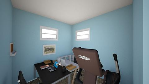 The Active Office - Minimal - Office - by SaraB415