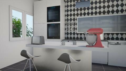 cuisine_retouche - Modern - Kitchen - by heosua