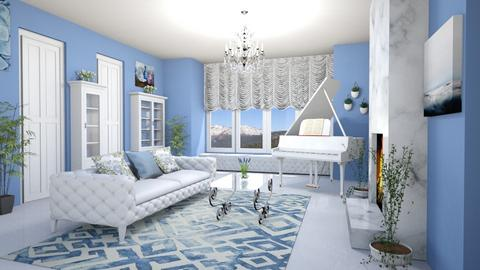 Template Baywindow Room - Living room - by Tzed Design