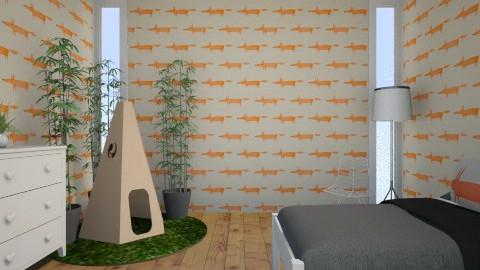Fox - Eclectic - Kids room - by JazzyAllen