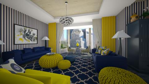 Blue Velvet - Classic - Living room - by Lackew