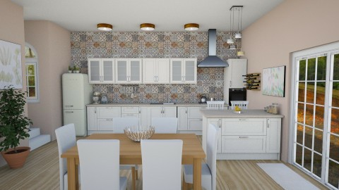 Dream kitchen  - by luciap94