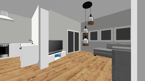 Notre maison - Minimal - Living room - by Corentin Padiou