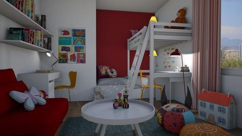 Girls - Kids room - by Tuija