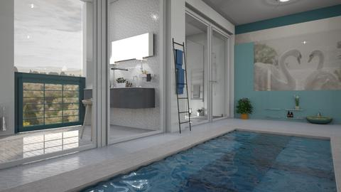 Swan - Bathroom - by ZuzanaDesign