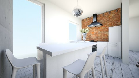 ev - Retro - Kitchen - by ewcia11115555