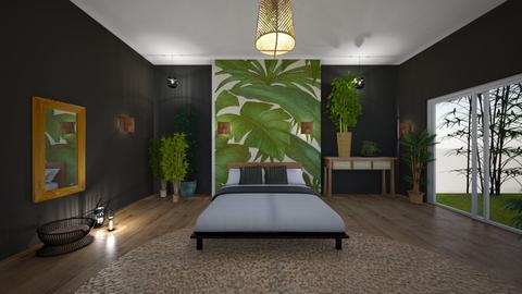 giungla - Bedroom - by Angela Quintieri