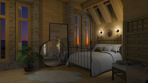 MGS_Bedroom - Bedroom - by Twilight Tiger
