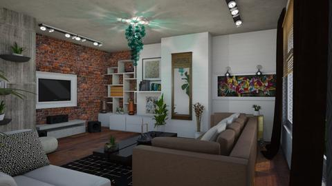 In the flow - Living room - by The quiet designer