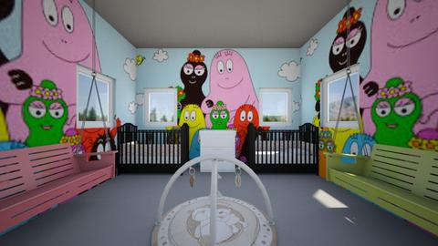 TWINS - Kids room - by Laura Drouhard