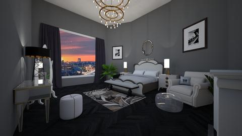 Glam Bedroom - Glamour - Bedroom - by lionhuntress29