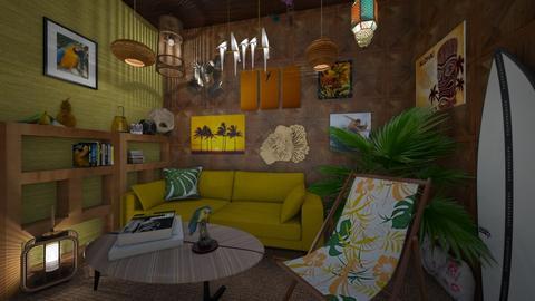tiki living - Living room - by 11Kay11