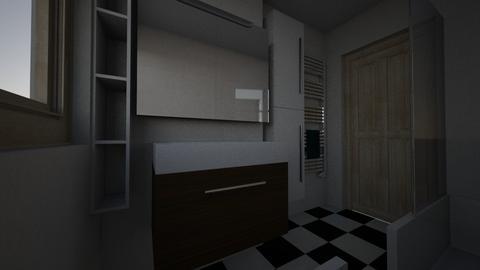 Damian lazienka - Bathroom - by smolarek
