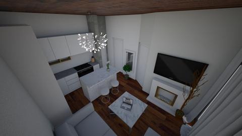 apartament - Living room - by ELVI