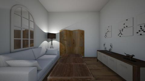 Sitting room - Rustic - Living room - by Marisa1116