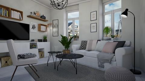 Light living - Living room - by Tuija